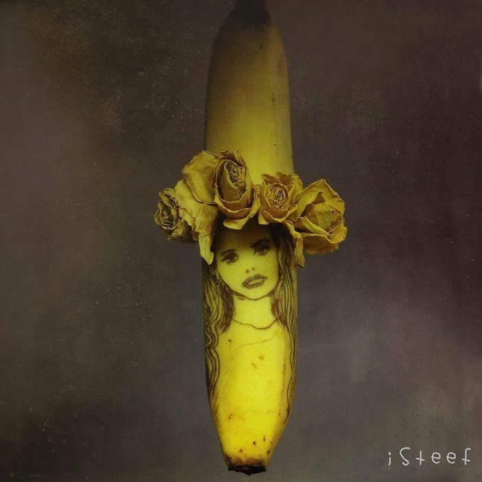 Merveilleuse banane dessin