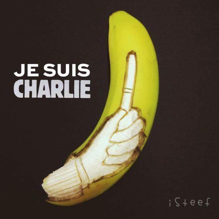 Je suis Charlie la banane