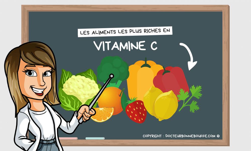 Quels sont les aliments les plus riches en vitamine C ?