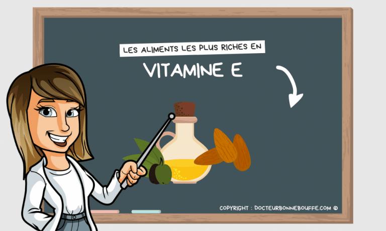Quels sont les aliments les plus riches en vitamine E ?