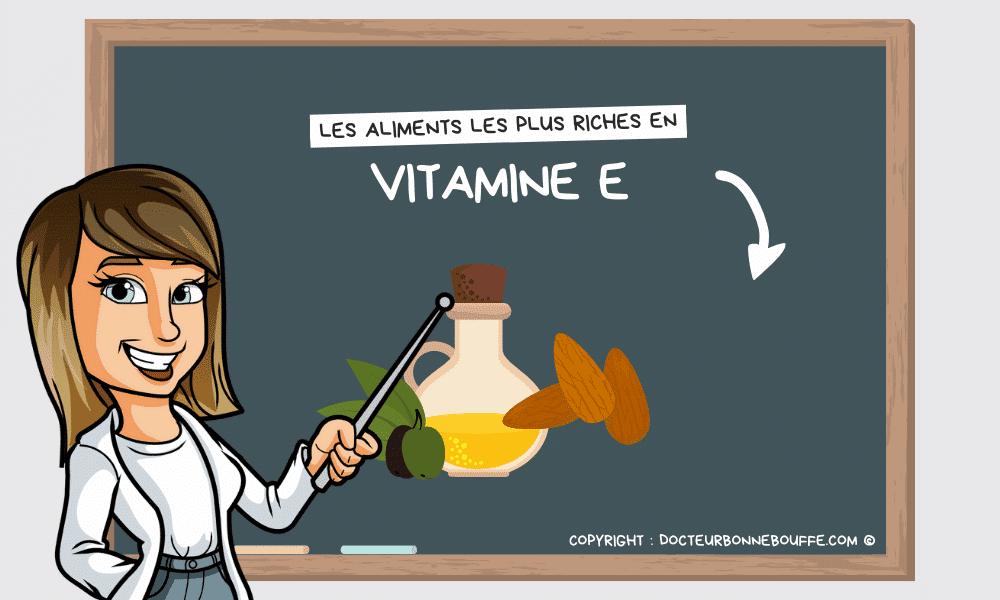 aliments riches en vitamine e liste