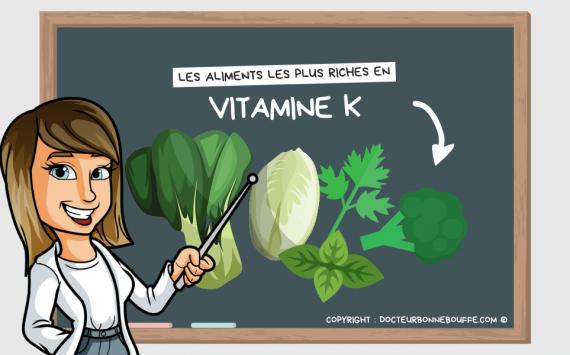 Les 11 aliments les plus riches en vitamine K