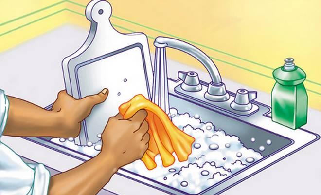 Le lave vaisselle une source d 39 allergies chez l 39 enfant for Cuisine enfant avec lave vaisselle