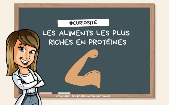 Les 10 aliments les plus riches en protéines