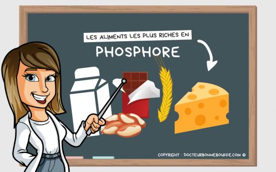 Les 10 aliments les plus riches en phosphore