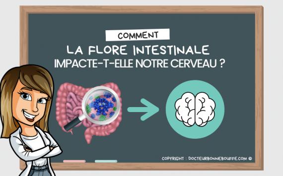 Comment la flore intestinale impacte notre cerveau