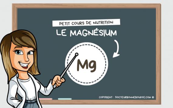 Petit cours de nutrition : à quoi sert le magnésium (Mg) ?