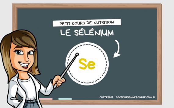 Petit cours de nutrition : à quoi sert le sélénium (Se) ?