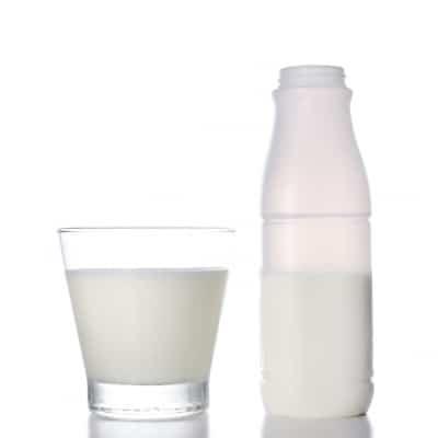 verre de lait