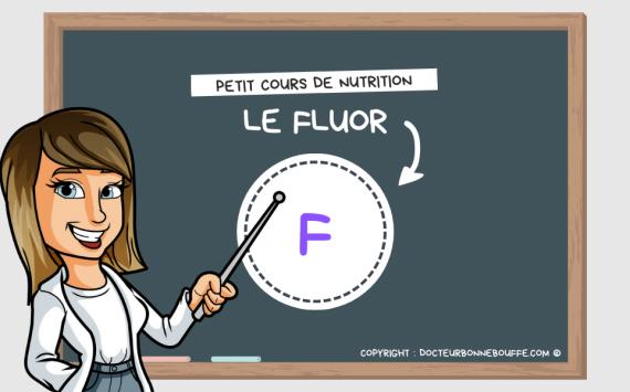 Petit cours de nutrition : à quoi sert le fluor (F) ?