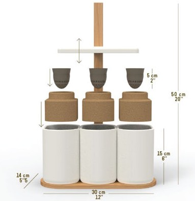 lilo le premier potager aromatique intelligent. Black Bedroom Furniture Sets. Home Design Ideas