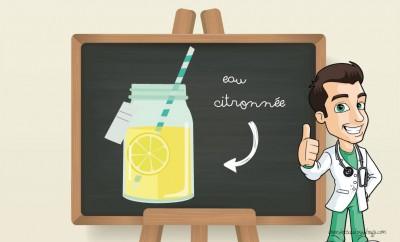 eau citronnée bienfaits
