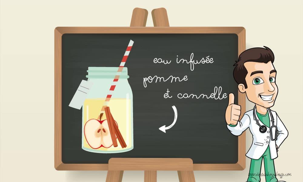 Eau-infusée-pomme-cannelle