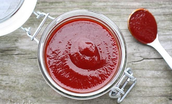 Recette ketchup fait maison