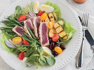 Salade filet thon patates