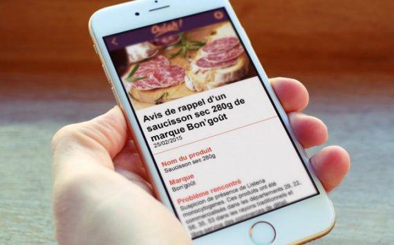 Oulah!, l'appli mobile qui signale les produits dangereux