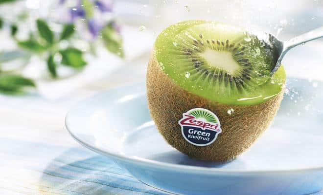 bienfaits kiwi green zespri