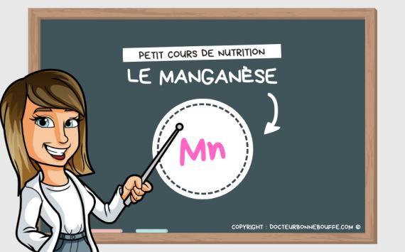 Petit cours de nutrition : à quoi sert le manganèse (Mn) ?