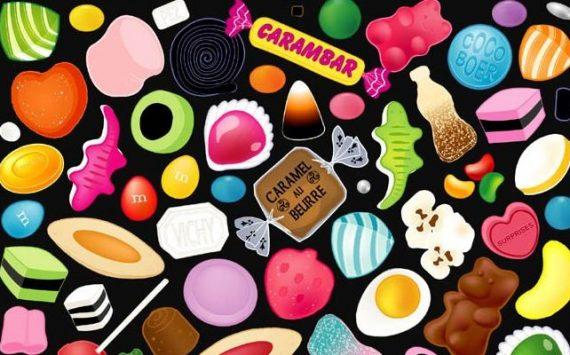 Les 13 bonbons les plus caloriques