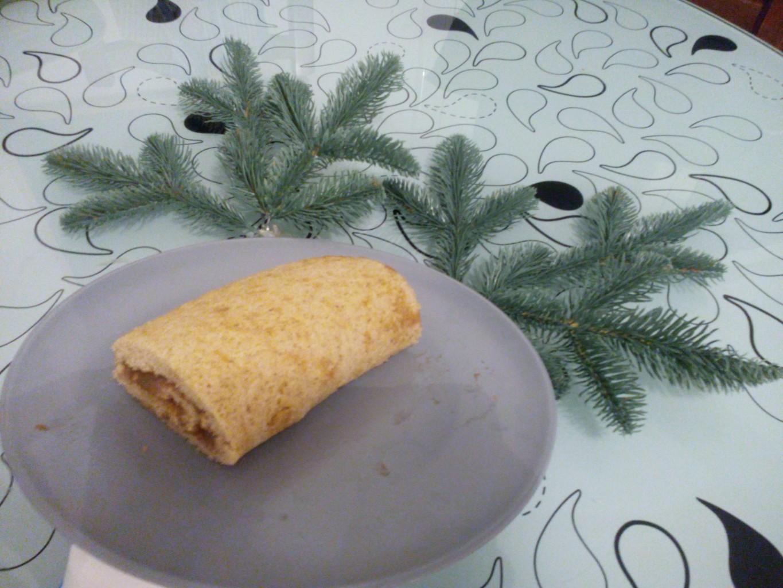 Recette Bûche de Noël sans gluten et sans lactose
