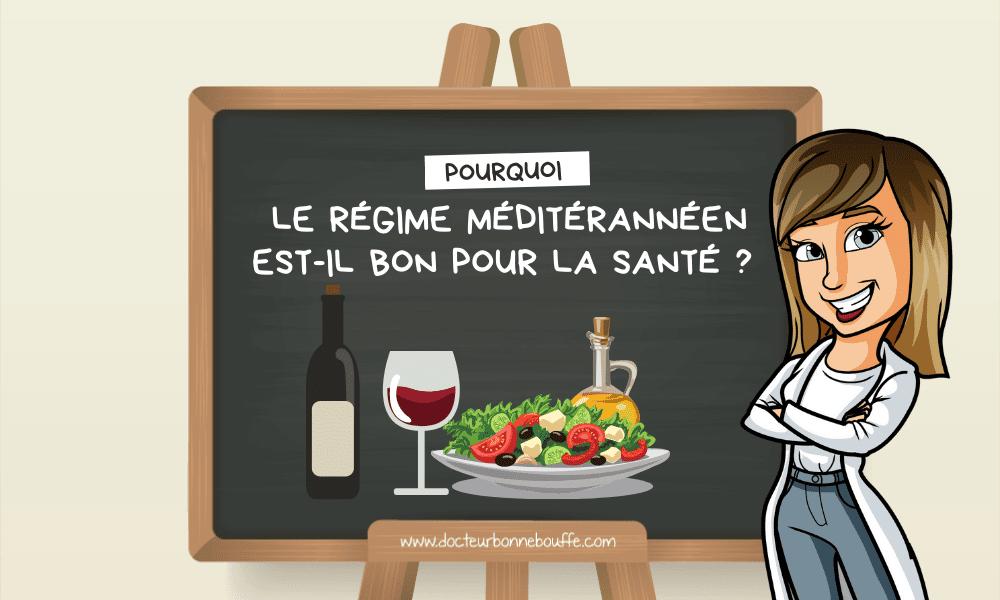régime méditerranéen bienfaits santé