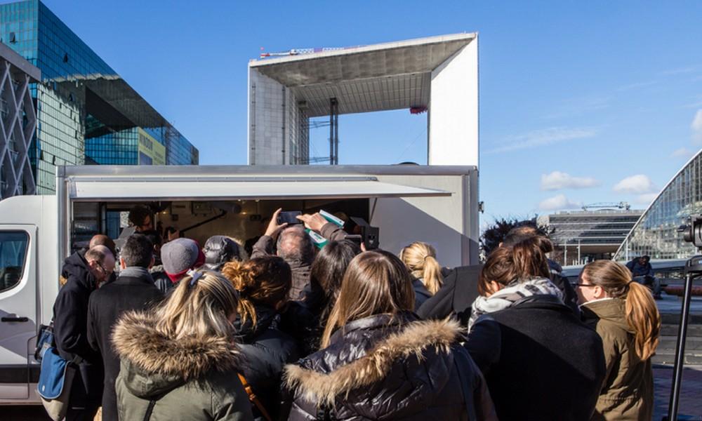Le Food Truck pro-huile de palme du Chef David Martin débarque à Paris