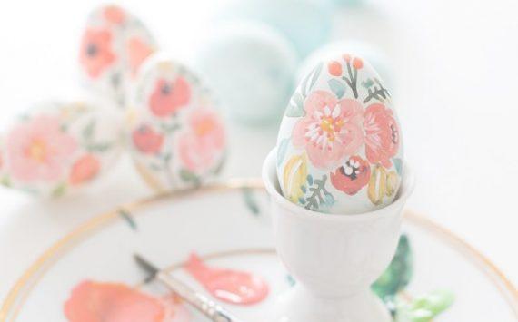 14 idées simples et faciles pour décorer des oeufs de Pâques
