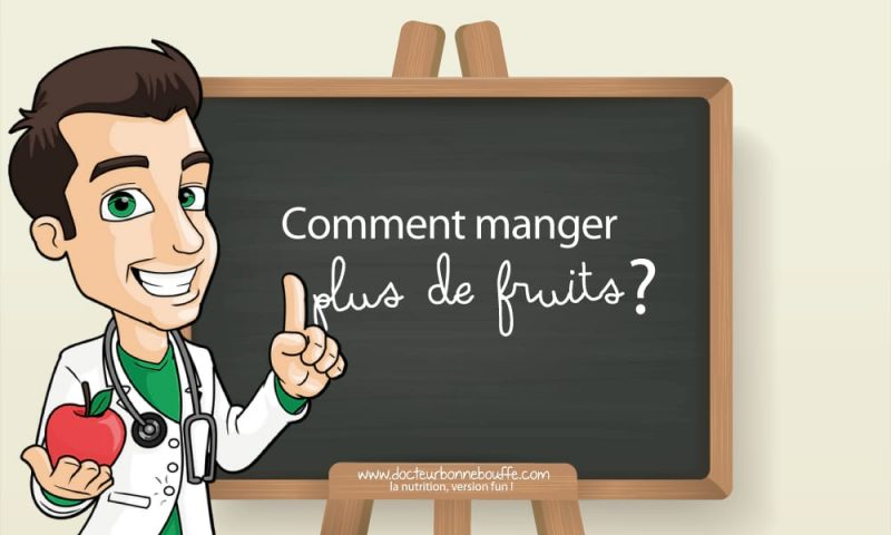 comment manger plus de fruits