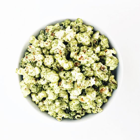 pop corn spiruline