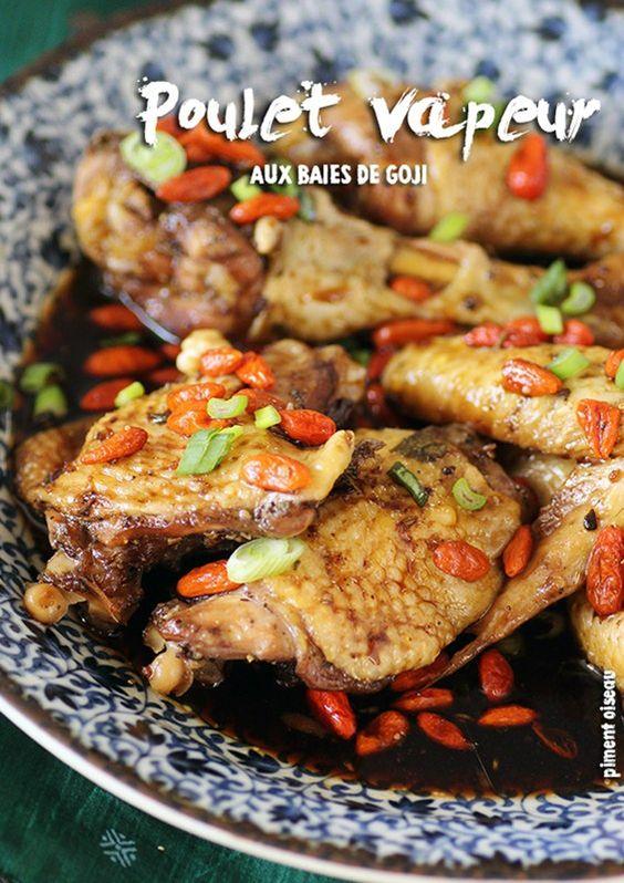 poulet aux baies de goji