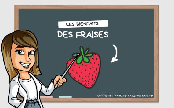 Les 1001 bienfaits des fraises !
