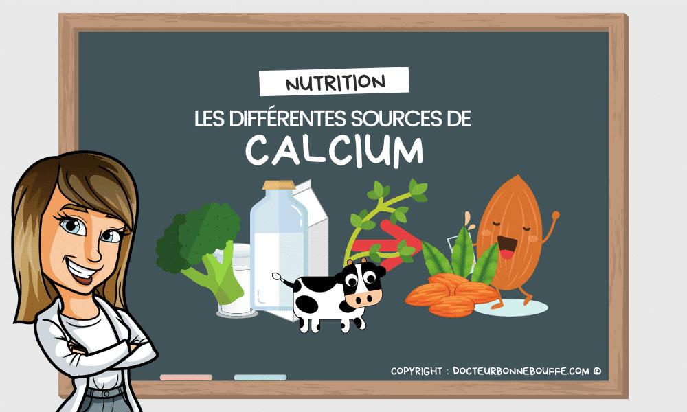 sources de calcium hors produits laitiers