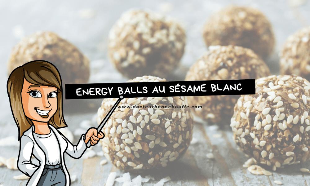 energy balls sésame figue recette