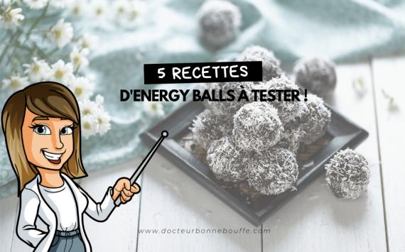 La folie des Energy balls : 5 recettes à tester !