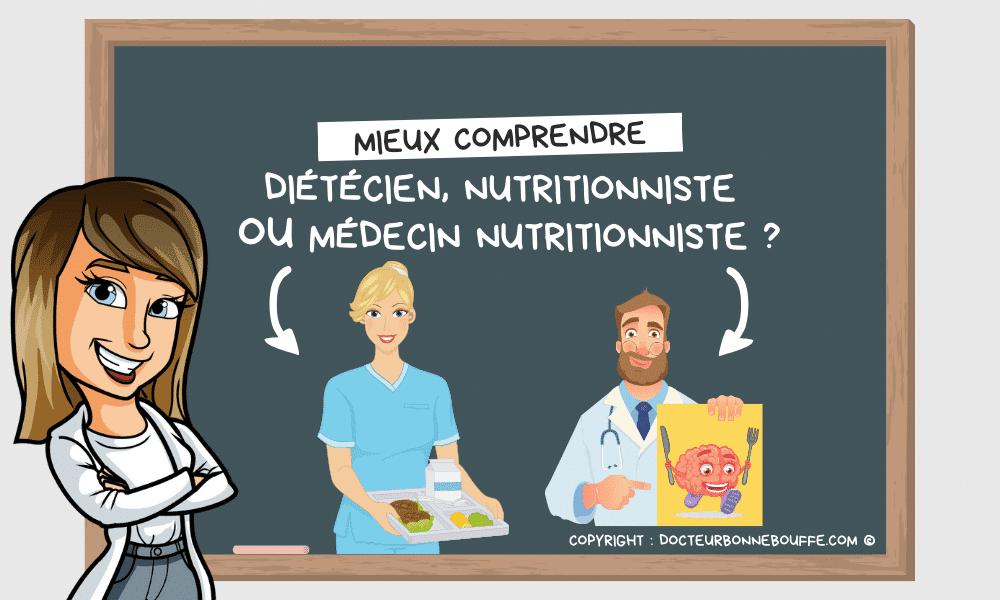 Diététicien ou nutritionniste : quelles principales différences ?