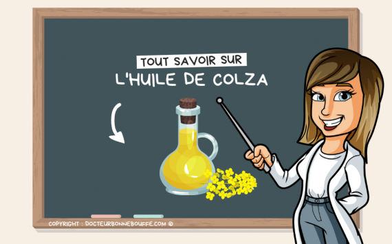 5 raisons de rajouter de l'huile de colza dans vos plats