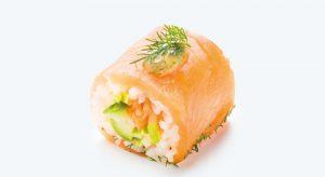maki saumon gravlax