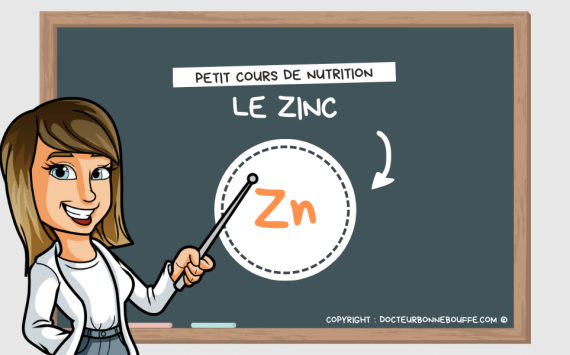 Petit cours de nutrition : à quoi sert le zinc (Zn) ?