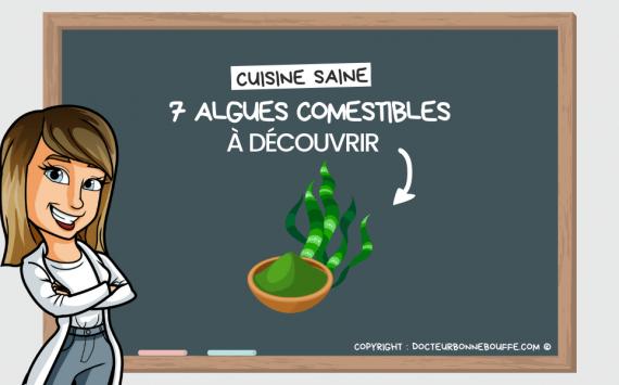 Cuisine saine : 7 super-algues comestibles à découvrir !
