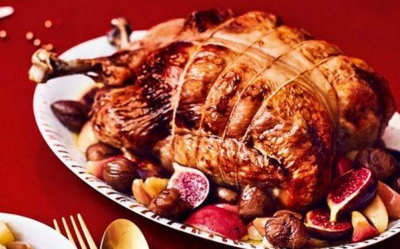 Les 10 meilleures recettes de dinde farcie de Noël