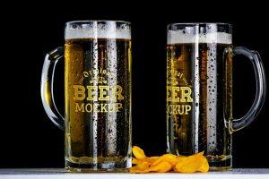 Bière mousse fraîcheur