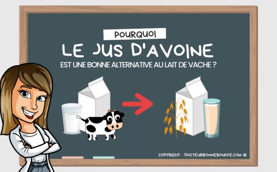 Le lait d'avoine est-il une bonne alternative au lait de vache ?