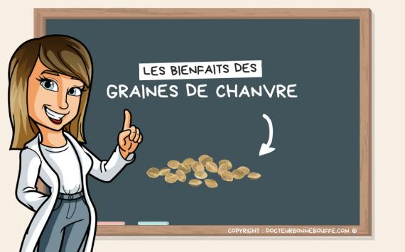 Santé : Les 5 bienfaits des graines de chanvre