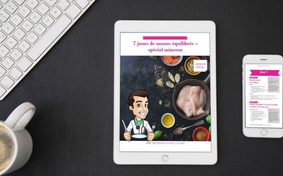 7 jours de menus équilibrés minceur – spécial été #1