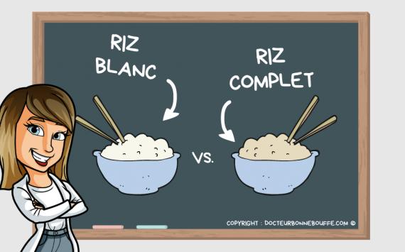 Riz blanc ou riz complet : lequel est meilleur pour la santé ?