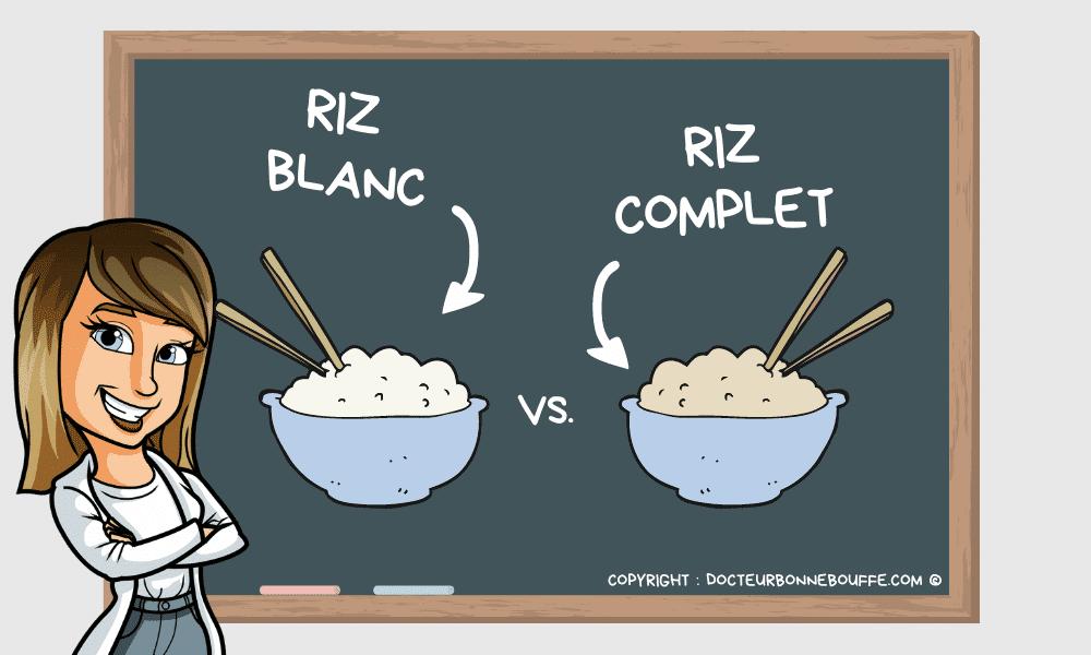 riz blanc ou riz complet