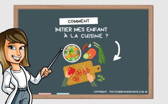 Education culinaire : 6 raisons d'initier ses enfants à la cuisine !