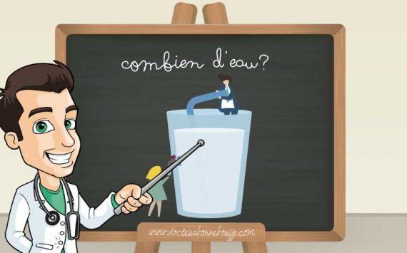 Combien d'eau faut-il boire par jour ?