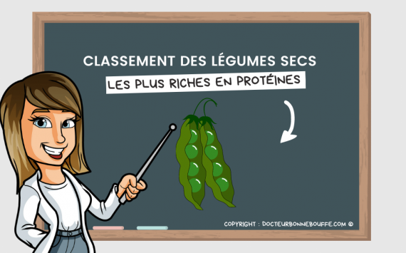 Les 8 légumes secs les plus riches en protéines