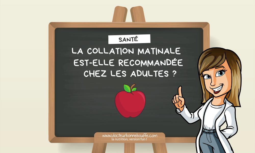 collation matinale chez l'adulte